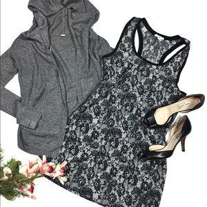 Joie Medium Black And white Mini Dress